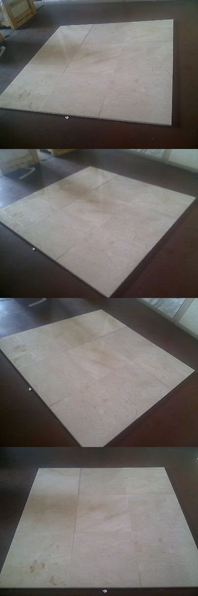 Floor and Wall Tiles 45800: 24 X24 Crema Marfil Standard Marble Tile Flooring Wall Polished $6.49 S F - Lot -> BUY IT NOW ONLY: $1246.08 on eBay!