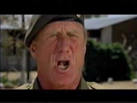 One of my fave scene in The Wild Geese, 1978 movie: The Training, so hilarious :))