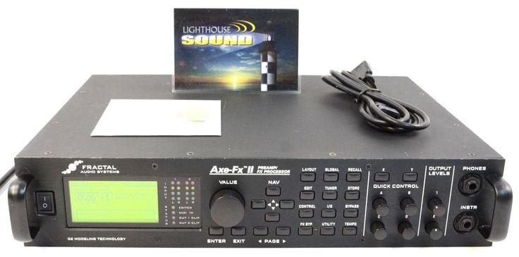 Fractal Audio Axe-FX II Guitar Amp & Effect Simulator