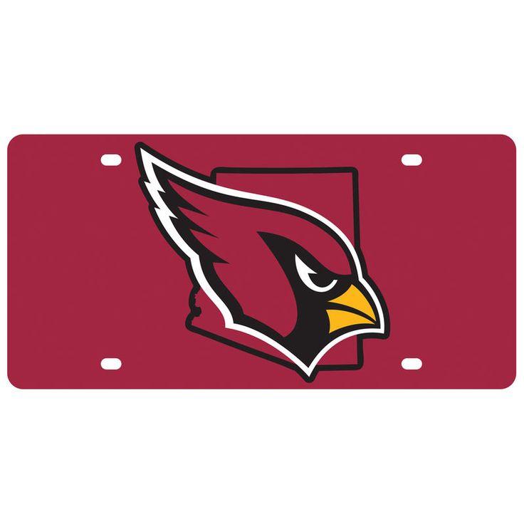Arizona Cardinals State Pride License Plate