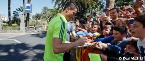 Locura en Las Palmas con el Real Madrid