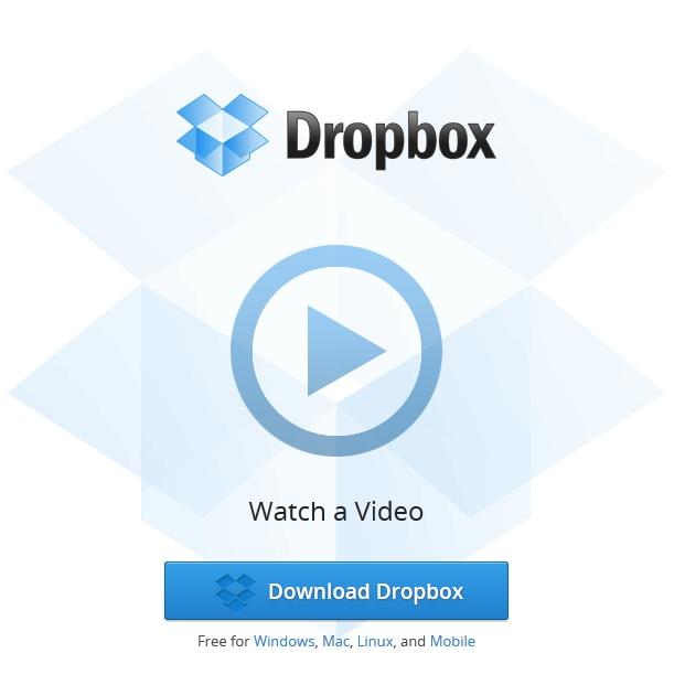 Dropbox for sending ginormous files