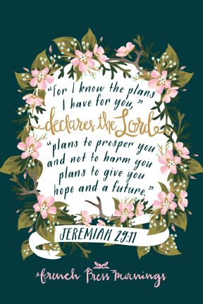 French Press Mornings - Jeremiah 29:11