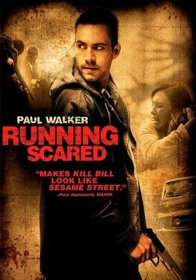 Running Scared (2006) Low-level mobster Joey Gazelle (Paul Walker) is tasked with disposing of a gun used to kill cops during a drug bust. But when it's stolen by his son's friend and used in another high-profile crime, Joey must find the gun quickly -- or pay the ultimate price. Along the way, he'll lock horns with the Russian mob and other dregs of society, which includes a corrupt police detective (Chazz Palminteri) who's hot on his trail.
