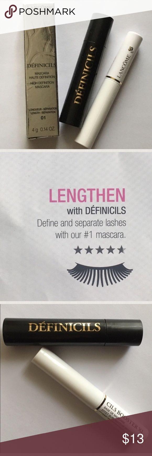 🆕 NEW! Lancôme Definicils Mascara & Cils Base. 🆕 Lancôme Definicils Mascara in Black & Cils Booster X Mascara Base in White. TOTAL VALUE $26.00. BNIB! Lancome Makeup Mascara