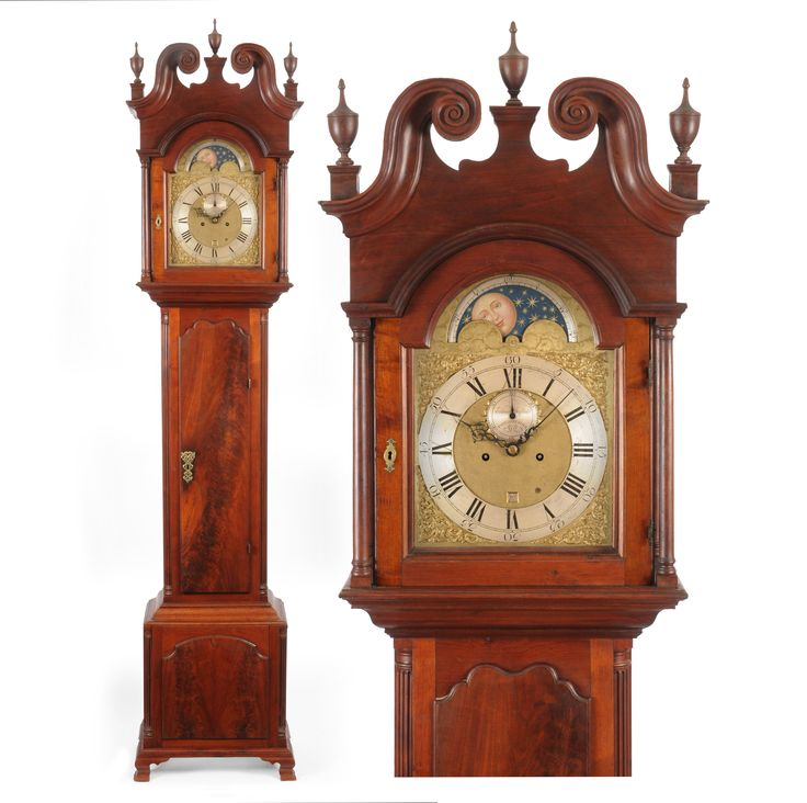 Chinese Kitchen Concord Ca: THE JOHNSON FAMILY CHIPPENDALE TALL CASE CLOCK, IMPORTANT