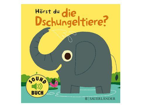 """Bücher für Babys und Kleinkinder bis 18 Monate: Wir stellen Ihnen die schönsten Babybücher vor, z.B. """"Hörst du die Dschungeltiere?"""""""
