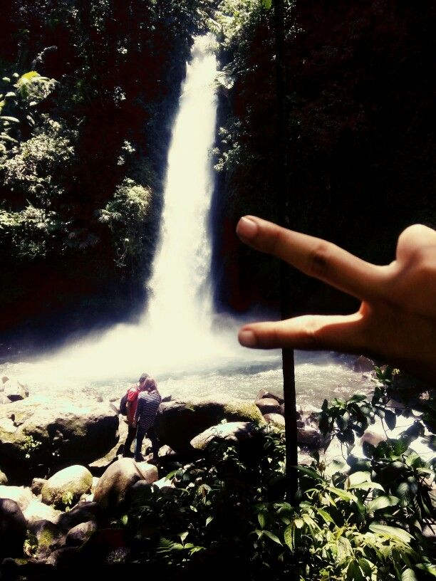Sawer Waterfall at Sukabumi