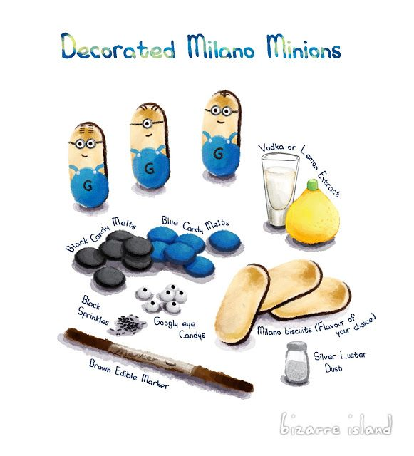 Best 25 Minion Treats Ideas On Pinterest Minions
