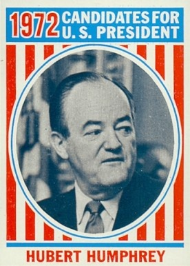 """Hubert Humphrey is a treacherous, gutless old ward-heeler who should be put in a goddamn bottle and sent out with the Japanese Current. The idea of Humphrey running for President again makes a mockery out of things that it would take me too long to explain or even list here. And Hubert Humphrey wouldn't understand what I was talking about anyway. He was a swine in '68 and he's worse now. If the Democratic Party nominate Humphrey again in '72, the Party will get exactly what it deserves.""…"