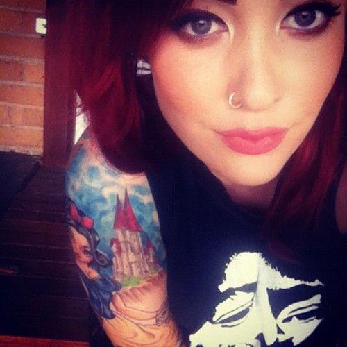 snow white x tattoos