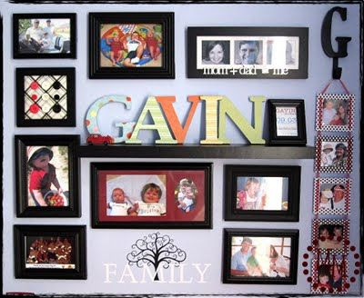 Nice!: Wall Collage, Photo Collage, Child Rooms, Boys Rooms, Photo Wall, Baby Rooms, Scrap Shoppe, Pictures Frames, Kids Rooms