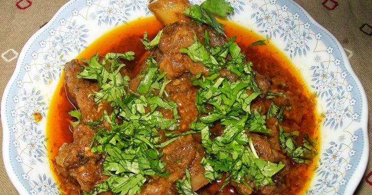 RAMAZAN SPECIAL MUTTON KORMA     INGREDIENTS     1.  ½ kg mutton pieces   2.  2 onion sliced   3.  12 cloves of garli...