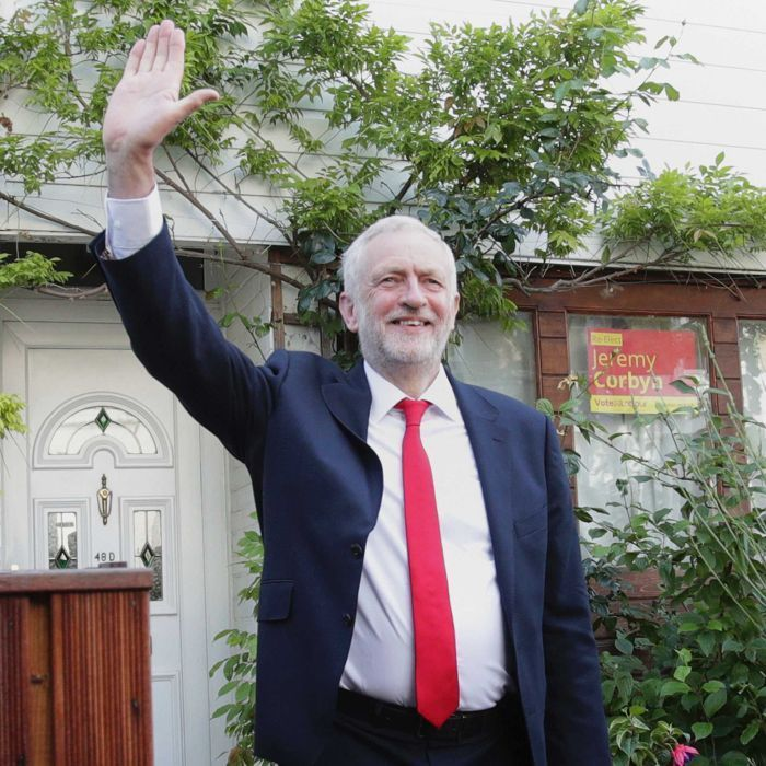 With his ill-fitting suits and fondness for growing vegetables, Jeremy Corbyn is an unlikely modern political leader. But he is the one political figure who stands taller after the British election, writes Nick Rowley.