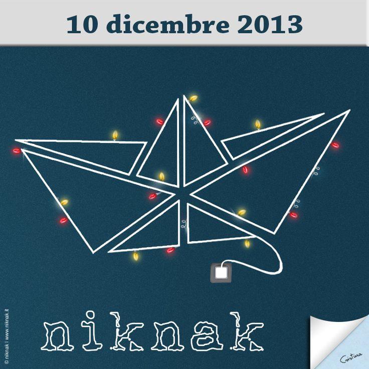Christmas illustration by niknak |  Christmas light