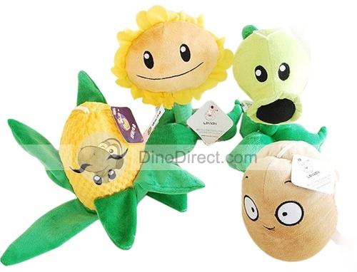 Unique Plants vs. Zombies Polymer Stuffed Dolls Toys 4Pcs: Zombies Polymer, Unique Plants, Plants Vs Zombies, Stuffed Dolls, Us2839Uniqu Plants, Dolls Toys, Polymers, Toys 4Pcs, Polymer Stuffed