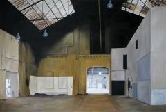 MARIA TEMNITSCHKA, Lost in time 1, 2010, Öl/Leinen, 120 x 180 cm