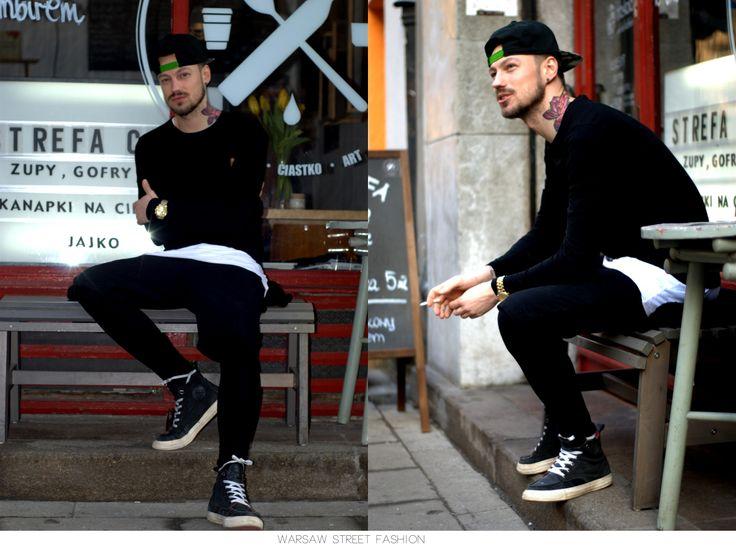 #warsawstreetfashion #warsaw #street #fashion #style #guy #handsome #poland #polish #boy #tattoo #moda #strefa
