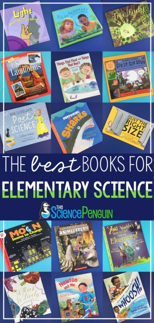 The BEST Books for Elementary Science