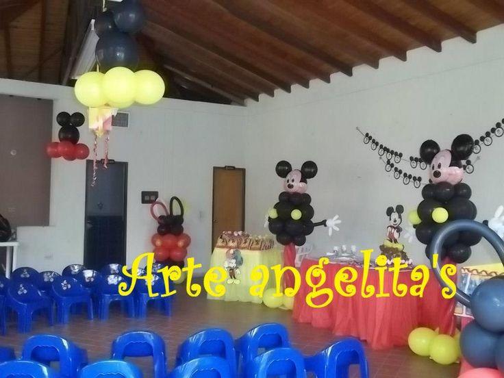 decoracion mickey