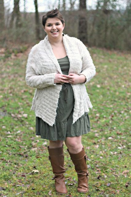 Hems for Her Trendy Plus Size Fashion for Women: Olive Spring