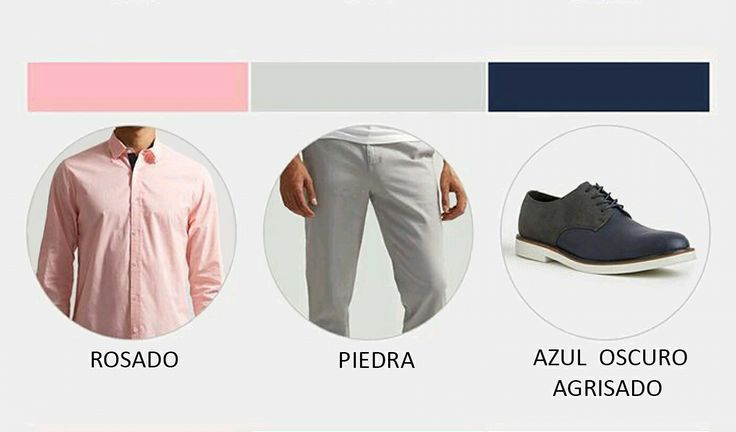 Buenos días hoy quiero compartirles segundo look de #martes .la siguiente combinación de color : #rosado #pink #piedra#stone #azul oscuro agrisado #navy #felizmartes  recuerda #vivelamodacongusto con #juanvanegas