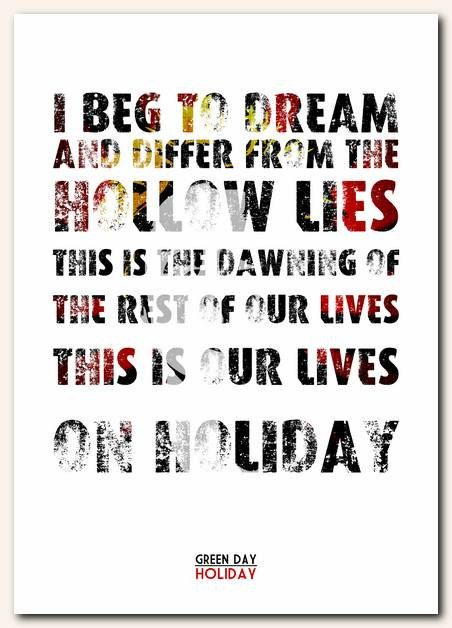 I beg to dream...and differ from the lies!!!!!