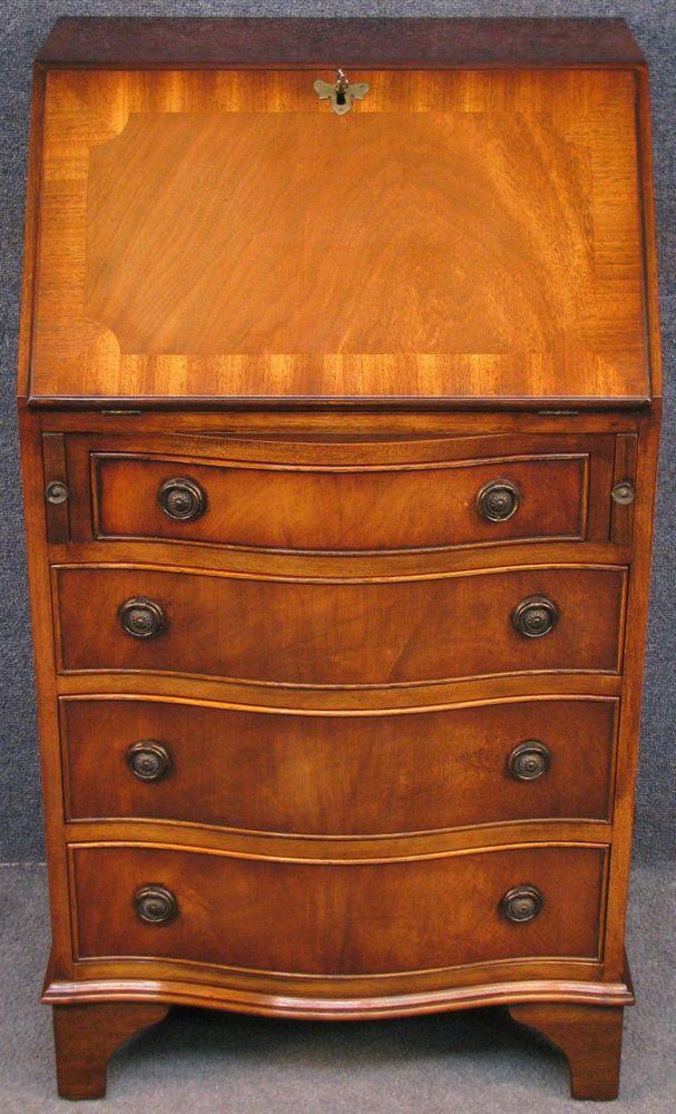 mahogany bureau desk 1