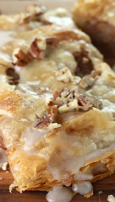 Easy Maple Pecan Apple Strudel
