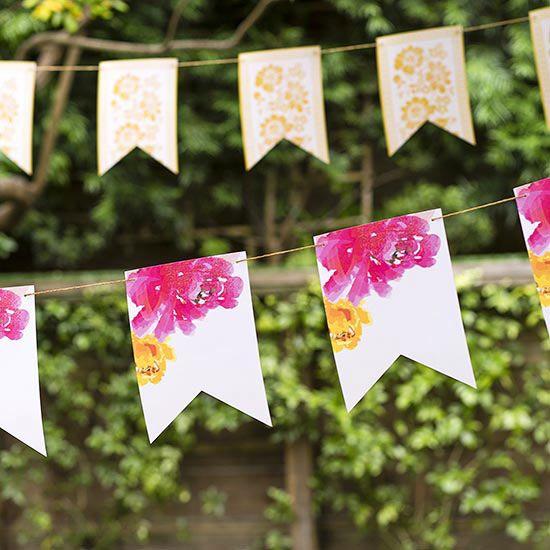 Hang a Homemade Banner