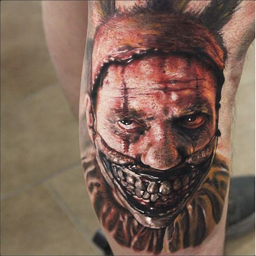 Horror Tattoo Stencils 10 best horror tattoos tattooton
