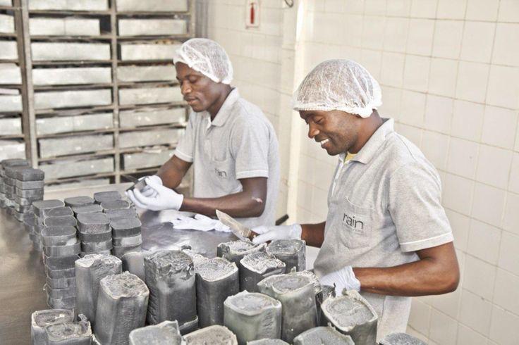 .olive oil soap making at Rain www.rainafrica.com #rainafrica # fair trade #natural