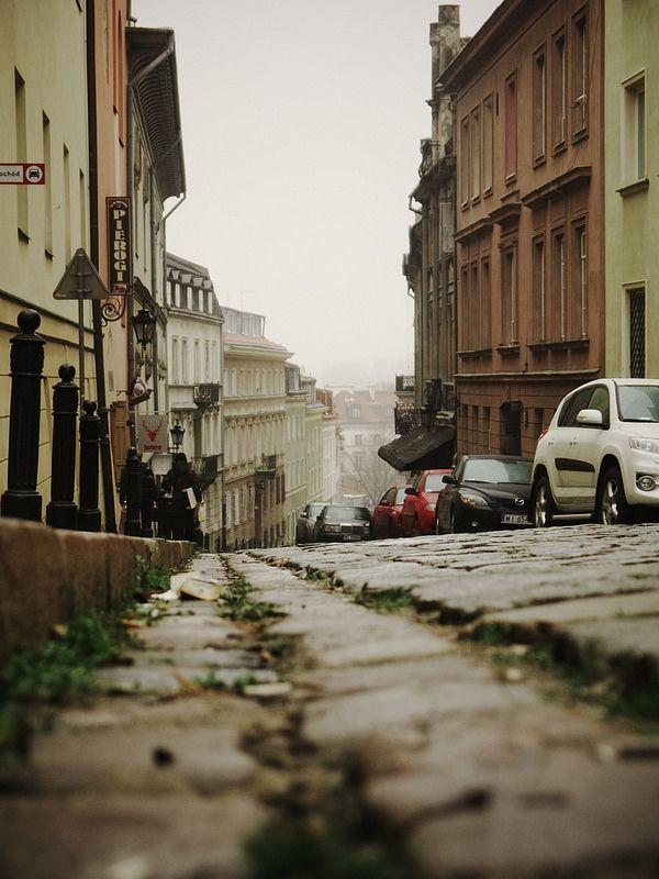 Warsaw Old Town street