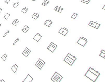 Freebie: Pixelvicon Icon Set (80 Icons)