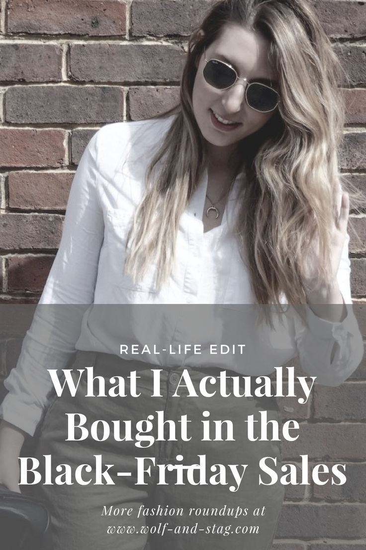 There are a LOT of black friday hauls and roundups out there. But what do people ACTUALLY buy? Here's my shopping list of what made it from cart to ca-ching, over on wolf-and-stag.com | Featuring coats, beauty, shoes & more! | Sale edit, fashion finds, fashion picks | Wolf & Stag