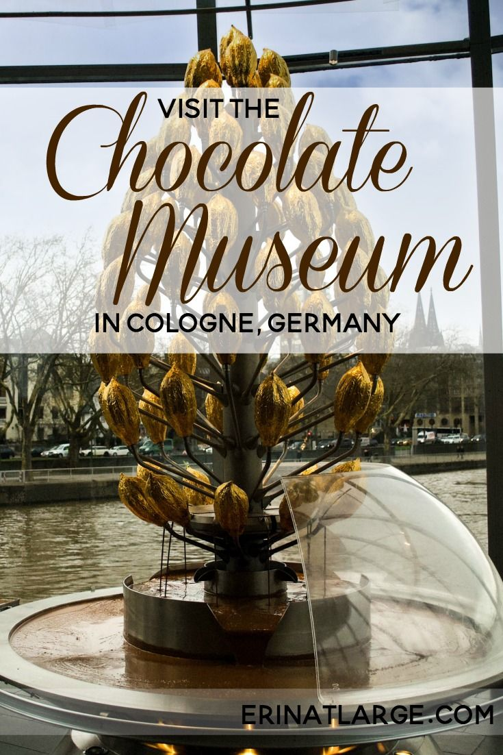 Cologne, or Köln in German, is famous for its cathedral, its beer, and its intense Karneval parties. High on our list for our visit also included the Chocolate Museum. I truly didn't expect to enjoy this museum as much as I did – but it is well laid out, interesting, and fun for adults and kids.  via @erinehm