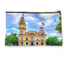 Historic Town Hall - Bendigo, Victoria Studio Pouch