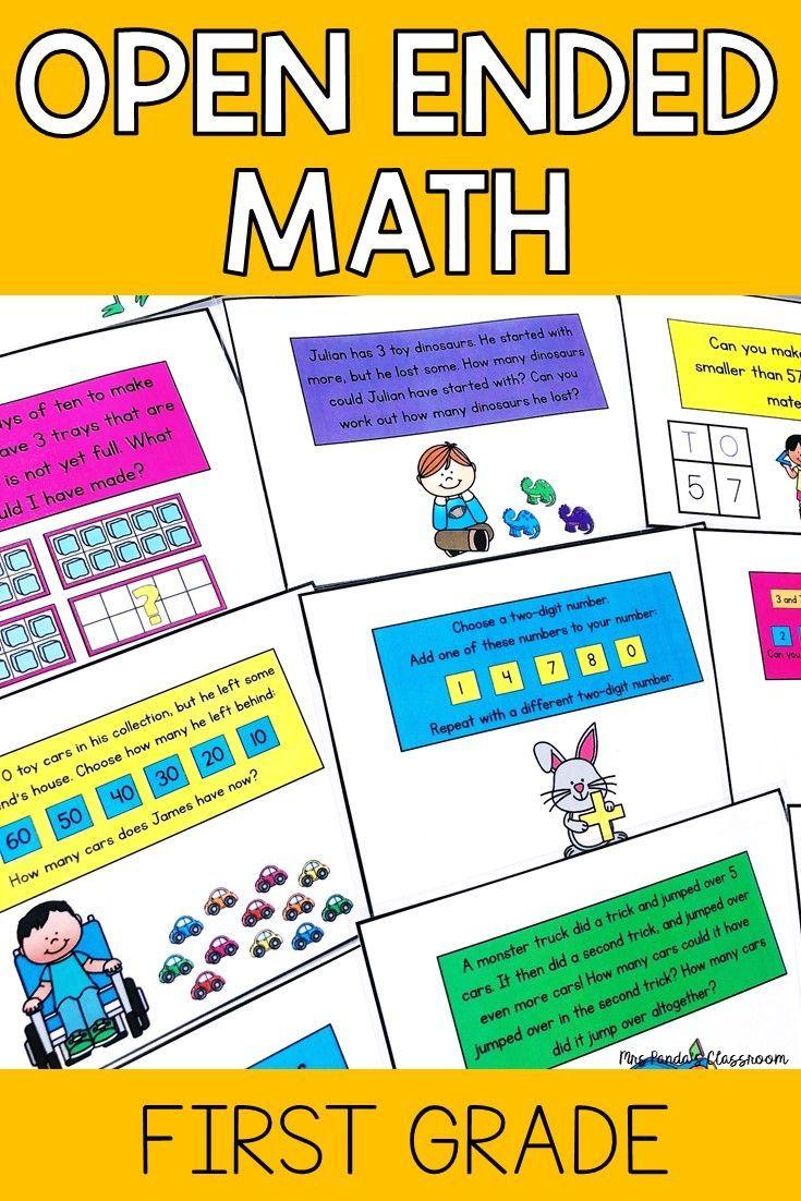 First Grade Math Activities 1st Grade Math Math Algebra Activities [ 1102 x 735 Pixel ]