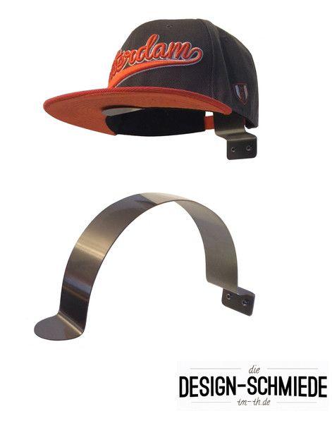 1 x Edelstahl Cap Halter Schirmmützenhalter Capi Hut – Die Design-Schmiede