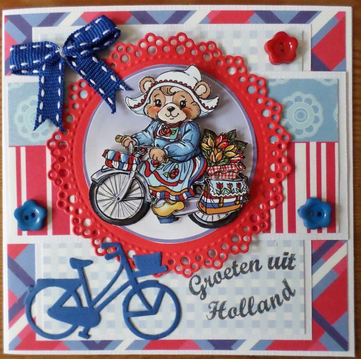 31 best 18 card ideas holland images on pinterest card ideas holland fietsland kaart naar canada m4hsunfo
