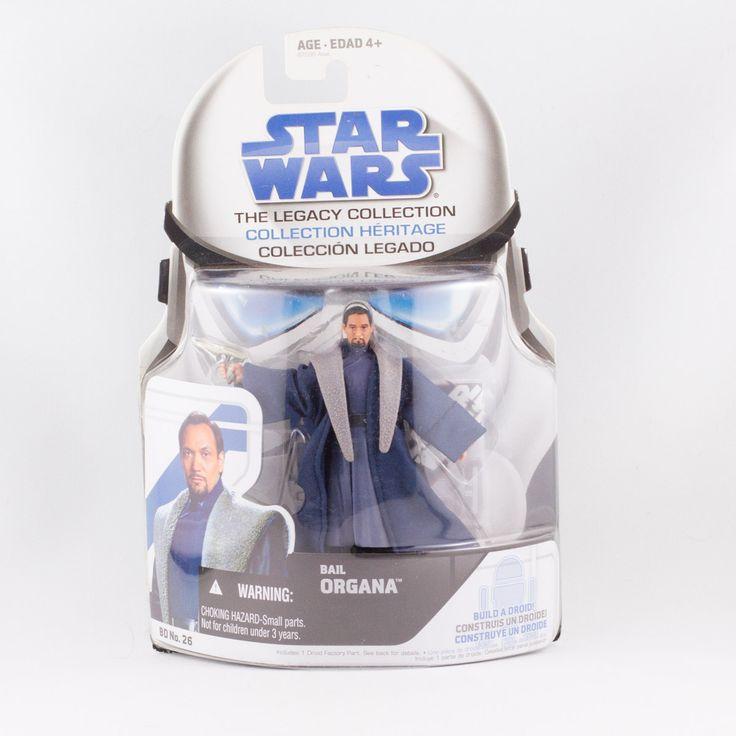 Bail Organa, Star Wars Hasbro The Legacy Collection  Bail Organa