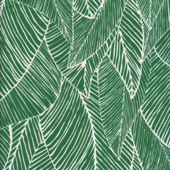 Bonfire Rainforest fabric #green #emerald #leaf