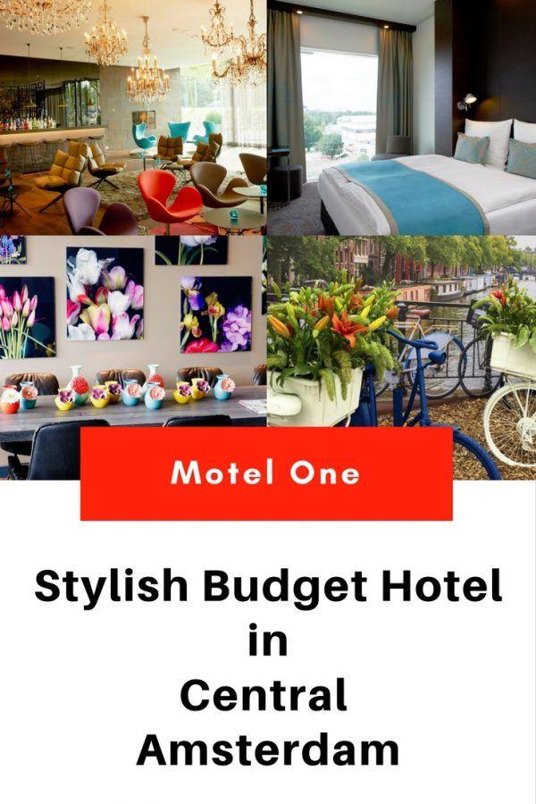 Motel One, Amsterdam, Netherlands - a stylish budget hotel in Central Amsterdam  - Motel One