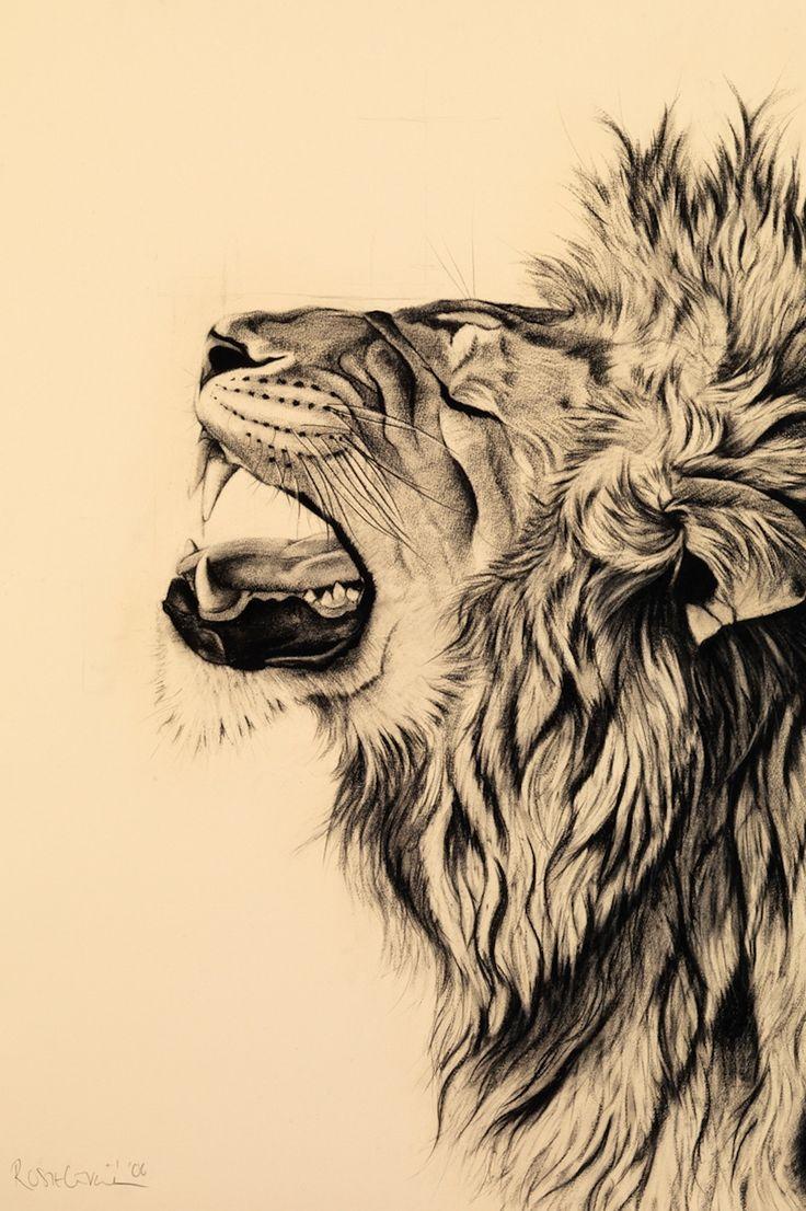 рисунки лев крутые сталь рса используется