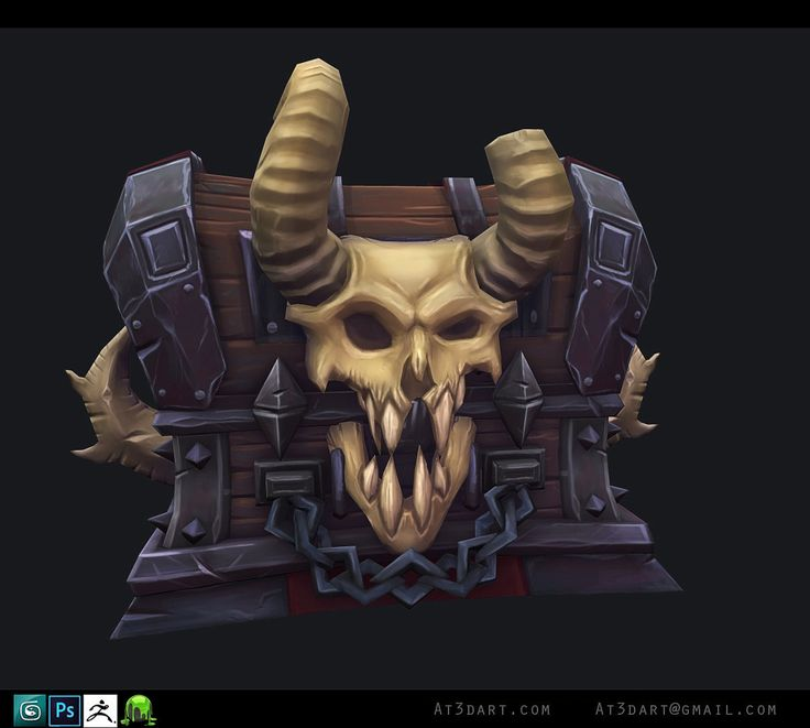 Chest, Anthony Trujillo on ArtStation at https://www.artstation.com/artwork/chest-aa95b7b7-9145-41f9-b190-f30adfeb04cf