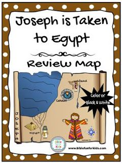Joseph Preschool Ideas and Printable Projects