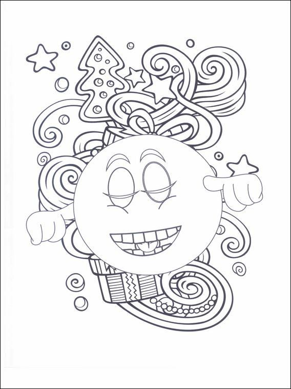 Emojis - Emoticons Coloring Pages 28