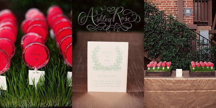 place cards: Galleries, Escort Cards, Place Cards, Names, Lollipops Escort, Wedding Events, Leaves, Places Cards, Vines Leaf