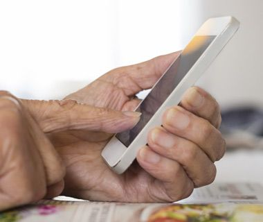 A hand surgeon explains the dangers of texting — and why it's worse for boomers.