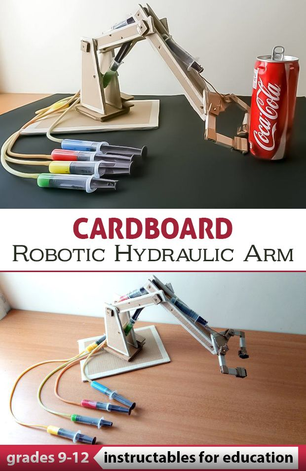 Small Hydraulic Robot Arm : Best education images on pinterest proyectos de niño